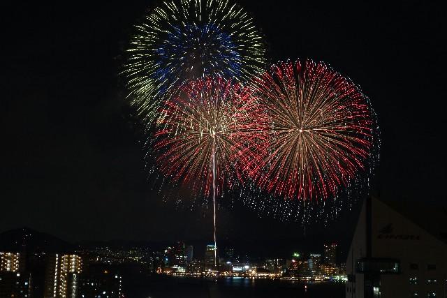 みなとこうべ海上花火大会 2016!有料席の詳細や穴場スポットをご紹介!