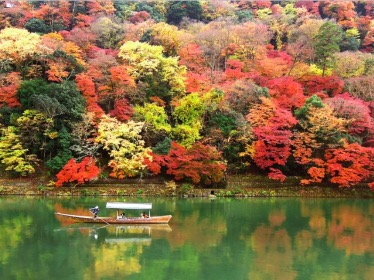 嵐山の紅葉 見頃時期2017!観光のおすすめルートはコレ!
