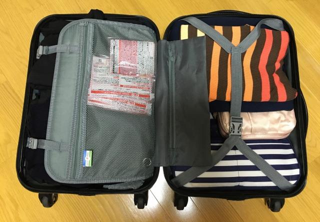 スーツケースのパッキングの6つコツを伝授!圧縮袋や片側詰めがポイント